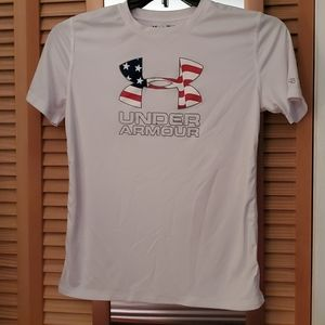 Boys Under Armour Performance Tee